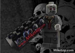Miketop black lego