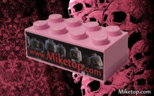 Miketop pink lego