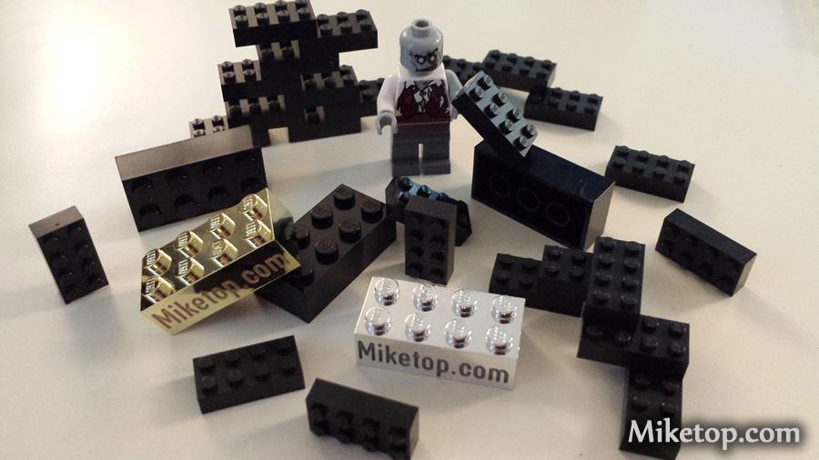 lego zombie baut mit Lego - miketop